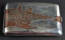 AN EARLY 20TH CENTURY JAPANESE MEIJI PERIOD SILVER