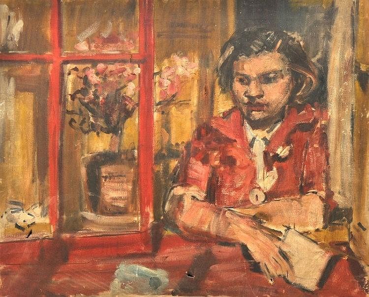 Geoffrey Tibble (1902-1952) British. A lady