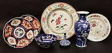 A GROUP OF CHINESE & JAPANESE PORCELAIN