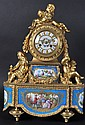 A SUPERB 19th CENTURY FRENCH ORMOLU AND SEVRES