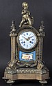 A 19TH CENTURY FRENCH ORMOLU CLOCK by Stainville