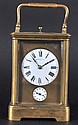 A GOOD FRENCH GRAND SONNERIE CARRIAGE CLOCK. 5.5