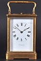 A FRENCH HOUR AND MINUTE REPEATING CARRIAGE CLOCK,