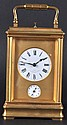 A GOOD FRENCH REPEATER CARRIAGE CLOCK. 5.5 inches