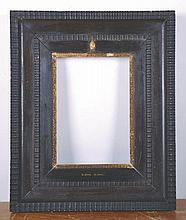 """Late 19th Century Dutch School. A Dutch Black Frame, 9.5"""" x 6.75""""."""