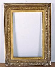 "19th Century English School. A Gilt Composition Frame, 24"" x 16"", and another 18"" x 14""."