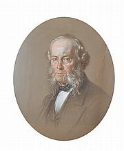 Antoine de Salome (19th Century) British.   Portrait of Will