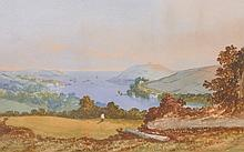 19th Century English School.   'View of Penryn, Cornwall', W