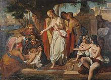 Carl Von Blaas (1815-1894) Austrian.   'The Finding of Moses