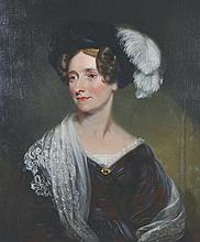 James Ramsay (1786-1854) British.   Portrait of Jane Donkin