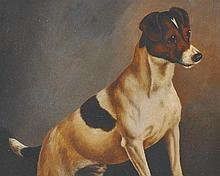 John Arnold Wheeler (1821-1903) British.   Study of a Terrie