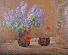 20th Century Russian School.    Still Life, with f