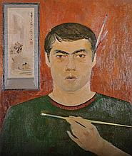 20th Century Russian School.    Portrait of an Art
