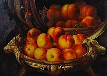 M... Miller (20th Century).    Still Life with Fruit
