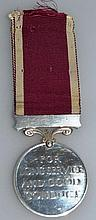 A GEORGE VI LONG SERVICE AND GOOD CONDUCT MEDAL, l
