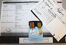 THE 1914-1918 MEDALS OF SPR.    508363 H.    J.