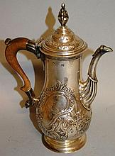 A GEORGIAN COFFEE POT.