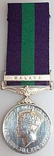 GENERAL SERVICE MEDAL 1918-1962, GEORGE VI, with r