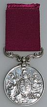 ARMY LONG SERVICE AND GOOD CONDUCT MEDAL, 2nd type
