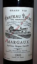 Ch. Tayac, Margaux, 1995, one bottle.