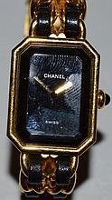 A CHANEL 1987 QUARTZ WRISTWATCH WITH BRACELET.