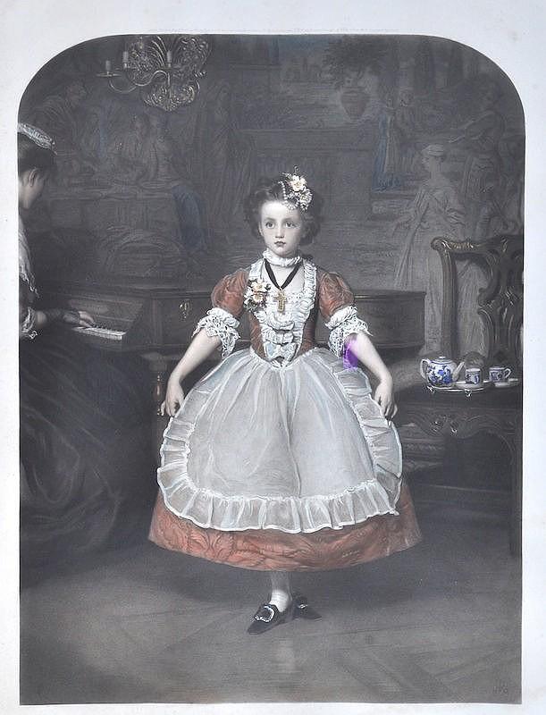 After John Everett Millais (1829-1896) British. 'A