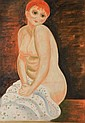 Moise Kisling (French, 1891-1953)