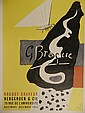 Georges Braque 1950's French Poster