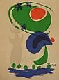 Vintage Joan Miro Lithograph