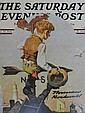 Norman Rockwell Hand Signed Lithograph