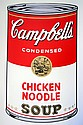 WARHOL SUNDAY B. MORNING CHICKEN NOODLE