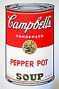 WARHOL SUNDAY B. MORNING PEPPER POT SOUP