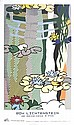Lichtenstein-Water Lilies with Japanese Bridge 1997