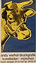 Andy Warhol (1928-1987) Blue Cow Offset Lithograph