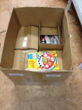 BOX OF BABY RATTLES