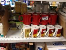 QTY OF ASSORTED MUGS