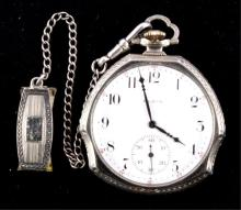 Elgin Pocket Watch 14kt Gold Filled circa 1911 Thi