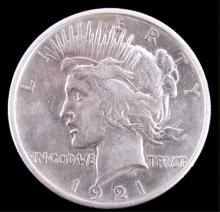 1921 Liberty Peace Silver Dollar The lot features