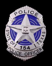 State of Texas Police Officer Badge