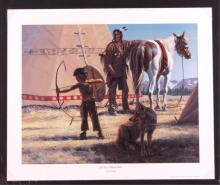 Larry Zabel Signed Limited Edition Print