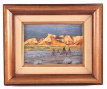 Original Lamar Rowbury Watercolor Painting