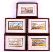 Original Watercolor Painting Collection