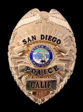 San Diego Police Officer Badge