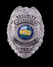 Security Enforcement Indianapolis Badge