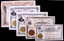 Mining and Oil Stock Certificate Collection