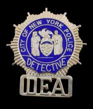 New York Police Detective DEA Badge