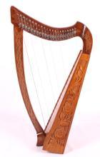 Celtic Rosewood 22 String Harp