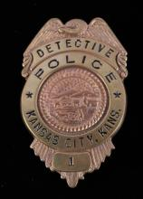 Kansas City Police Detective Badge