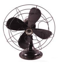 Antique Robbins & Myers Oscillating Fan