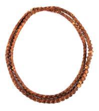 Northern Plains Rattlesnake Spine Necklace